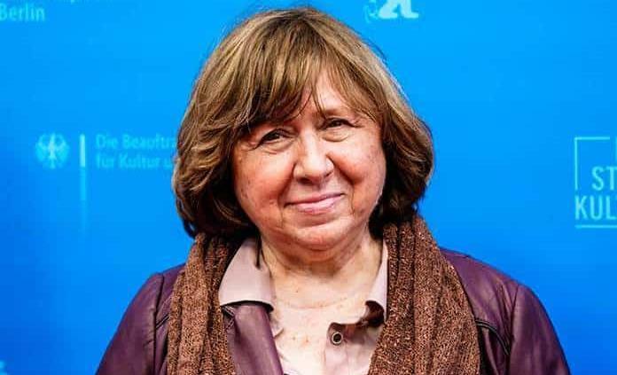 Parece que nos enfrentamos a una nueva Edad Media, lamenta Svetlana Alexiévich