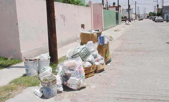 Quejas por pésimo servicio de basura