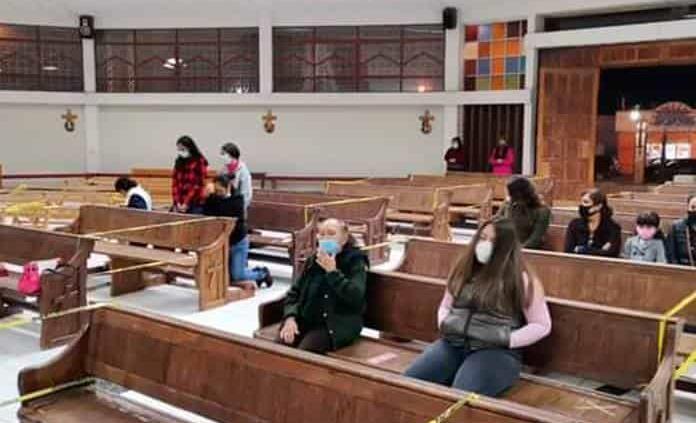 Reducen horarios de misa presencial en el Santuario