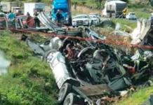 Muere trailero en accidente