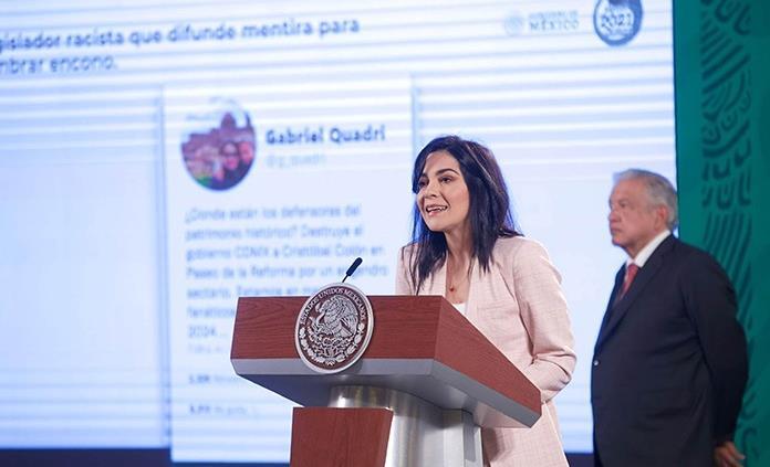 Denuncia García Vilchis una verdadera campaña de desinformación contra reforma