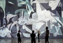 El Guernica se muestra como nunca, a tamaño gigante y en ultra alta definición