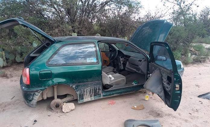 Desvalijado, recuperan auto robado, en Soledad