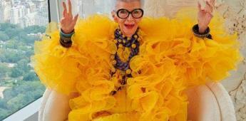Iris Apfel, a sus 100 años, lanza una colección con H&M