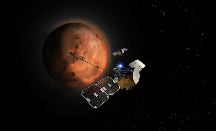 Un viaje espacial de 250 días para vivir en una ciudad autosostenible en Marte