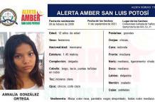 Activa Fiscalía Alerta Amber para localizar a menor de 12 años