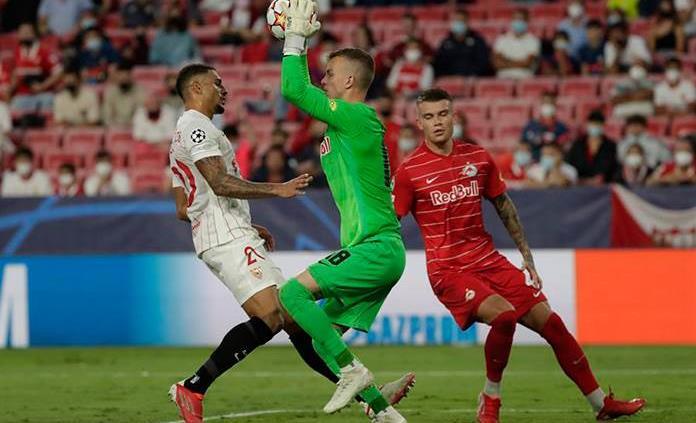 El Sevilla y Salzburgo empata en la primera jornada de la Liga de Campeones