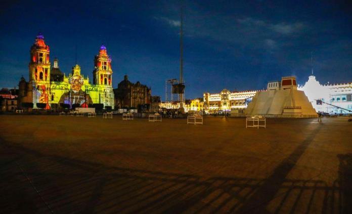 Maqueta monumental permanecerá hasta el 15 de septiembre en el Zócalo