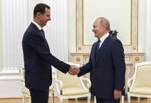 Putin critica la presencia de tropas extranjeras en Siria