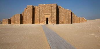 Egipto abre al público la tumba sureña del faraón Zoser tras ser restaurada