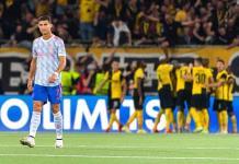 CR7 y el United caen en su debut en la Champions League