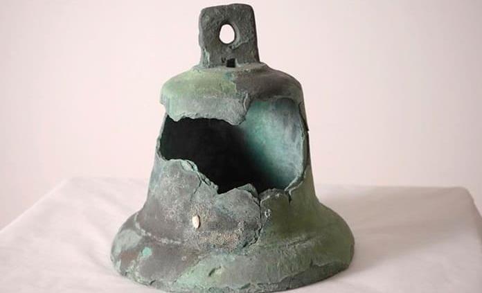 La campana de la carabela Santa María, un objeto único a subasta en Miami