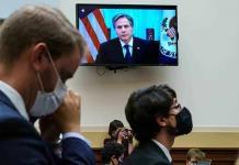 Defiende A. Blinken salida de Afganistán