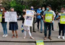 Grupos Provida realizan protesta