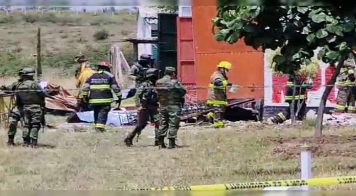 Explosión en taller de pirotecnia de Irapuato deja un muerto