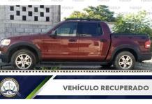 Recuperan camioneta robada en Ciudad Valles