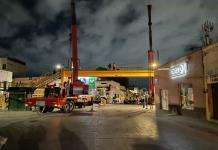 Concretan el retiro del puente Reforma