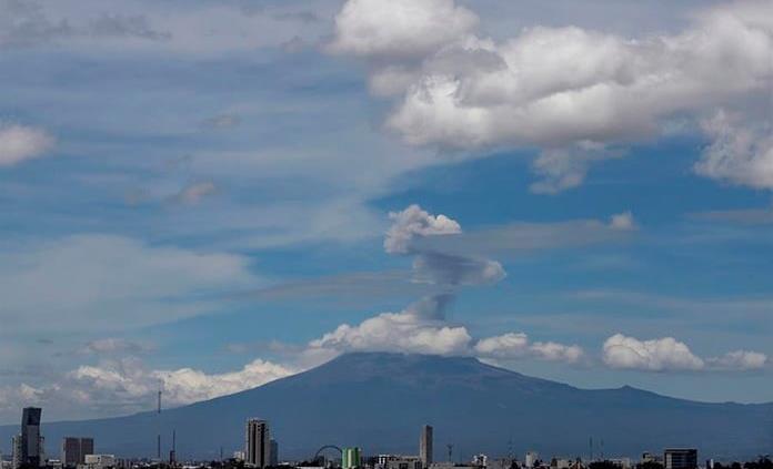 Nueva explosión del volcán Popocatépetl; continúa en Amarillo Fase 2