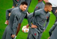 El PSG estrena su delantera con Messi, Mbappé y Neymar ante el Brujas