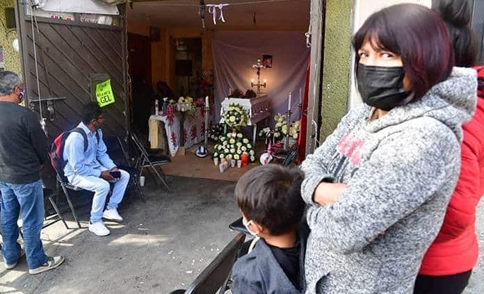 Velan a Mía, niña que murió tras derrumbe en cerro del Chiquihuite