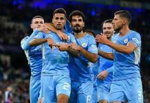 El Manchester City no perdona al Leipzig con un contundente 6-3