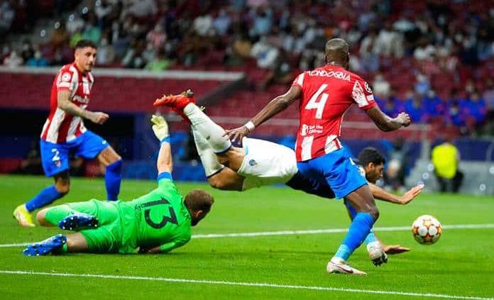 Al Atlético de Madrid se le escapan dos puntos ante el Porto