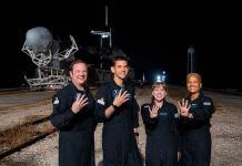 SpaceX, lista para misión de turismo