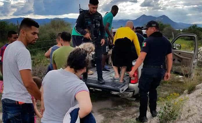 En Matehuala, migrantes y paisanos sufren odisea