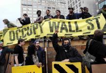 Ocuppy Wall Street cumple 10 años y ya solo es reconocible en algunos lemas