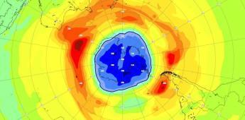 Crece agujero en capa de ozono sobre Antártida