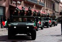 Desfile militar será sin público