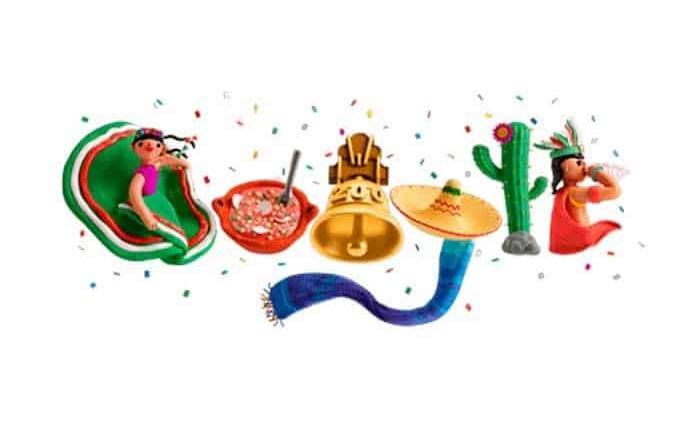 El autor del doodle que celebra la Independencia de México lo explica