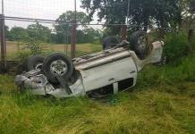 Recién nacido fallece por accidente vehicular