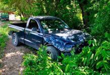 Pareja resulta lesionada en un accidente vehicular ocurrido sobre la Valles-Tampico