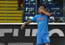 Lozano certifica con un golazo el liderato del Nápoles