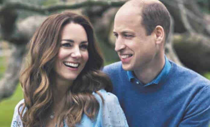 El príncipe Carlos y los duques de cambridge