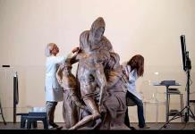 La Piedad Bandini de Miguel Ángel reluce en Florencia tras su restauración