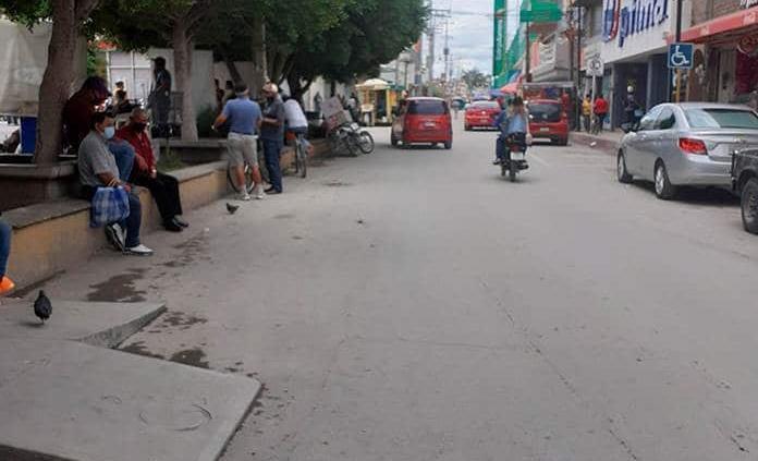 Zona centro, sin sanitarios públicos