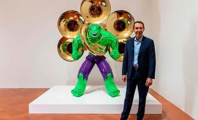 Las esculturas de Jeff Koons llegan al Palazzo Strozzi de Florencia