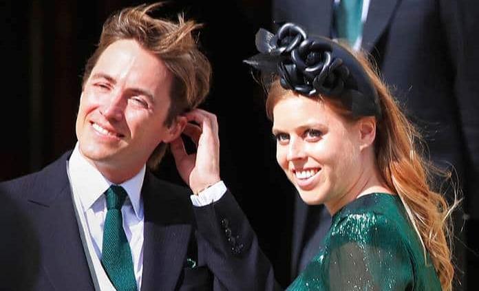 La princesa Beatriz de Gran Bretaña nombra Sienna Isabel a su primogénita