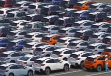 Las ventas de automóviles en EE.UU. cayeron 10% en el tercer trimestre
