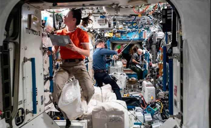 La Estación Espacial Internacional, una microsociedad objeto de estudio