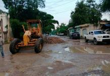 David Medina arranca obra de pavimentación