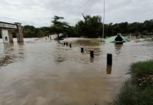 Tras las lluvias, el río Valles aumentó 2 metros su nivel