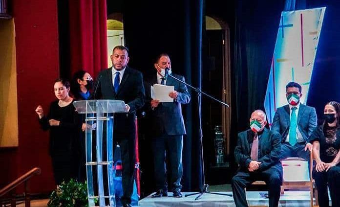Iván Estrada rinde protesta como alcalde de Matehuala