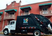 Municipio estrena camión recolector de basura
