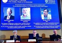 Nobel de Física premia a tres científicos por sus contribuciones sobre el clima