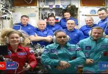 Rusia marca otro hito al rodar la primera película en el espacio