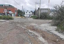 Urge rehabilitación total de las calles de Matehuala
