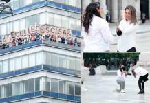 Propuesta de matrimonio desde Torre Latino se hace viral